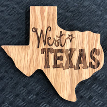 Texas Shaped Magnets