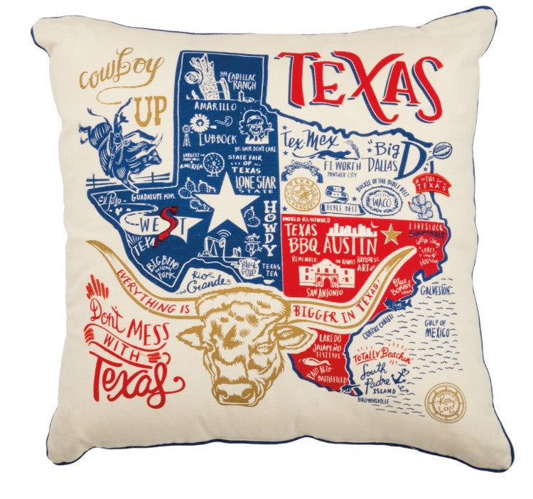 Don't Mess with Texas Pillow