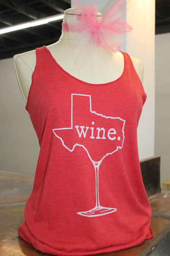 Texas Wine Tank (more colors available)