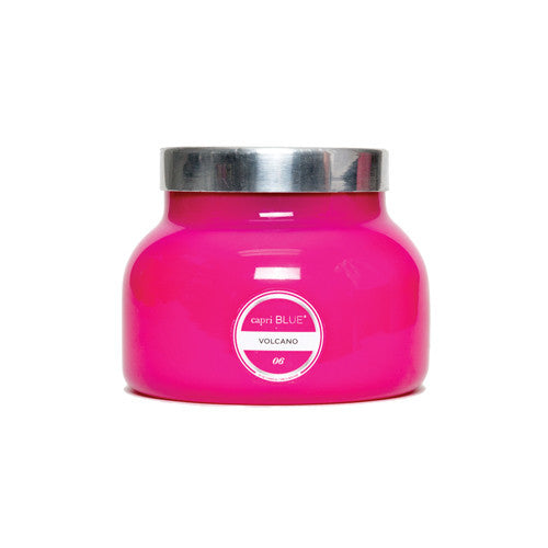 Capri Blue Volcano Candle 19oz. Pink Jar