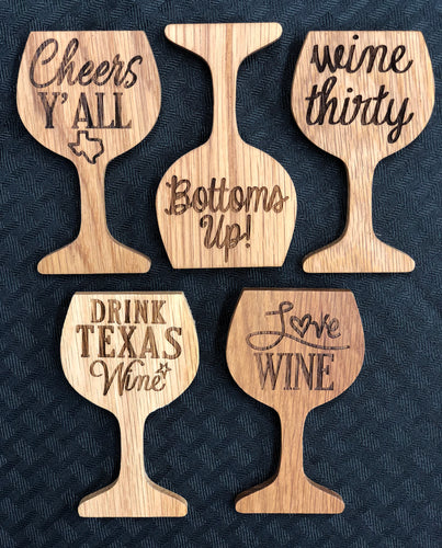 Wine Glass Shaped Magnets