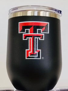 Texas Tech wine tumbler