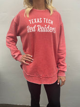 Texas Tech Vintage drop tail sweatshirt