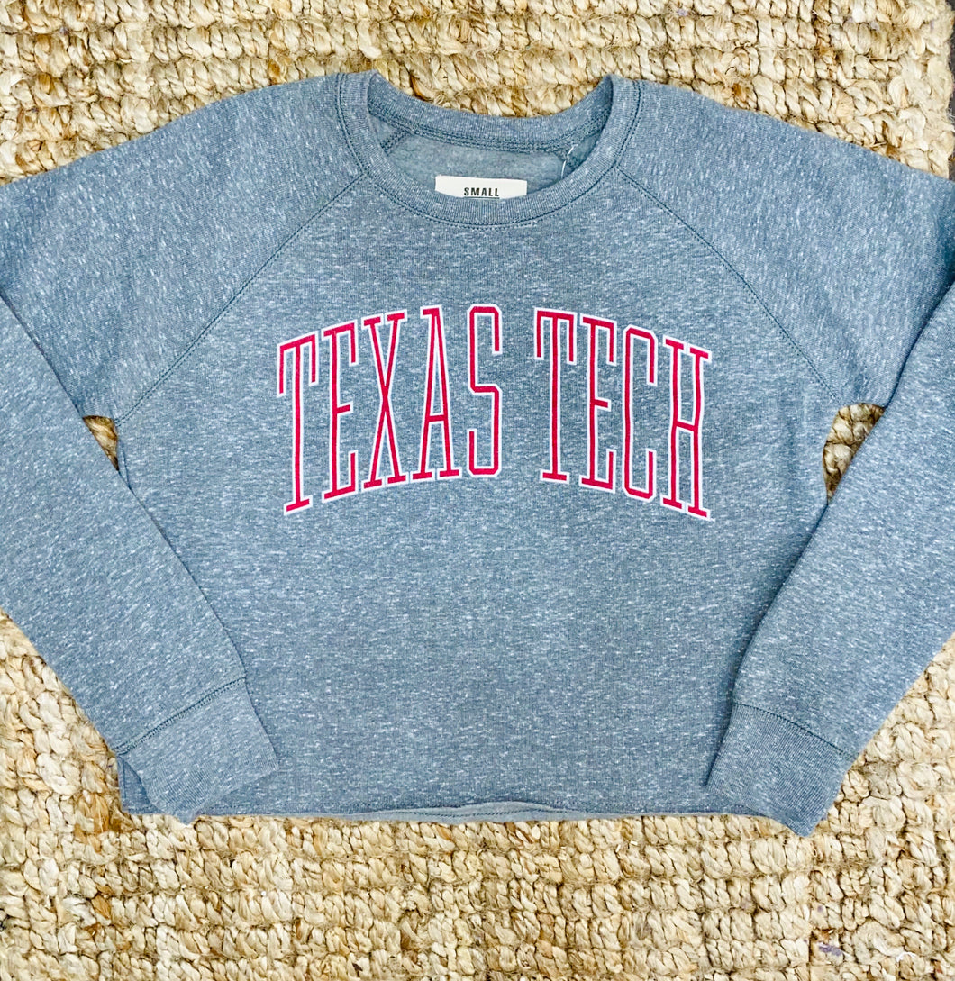 Texas Tech Cropped Sweatshirt
