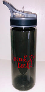 Wreck 'em Tech water bottle