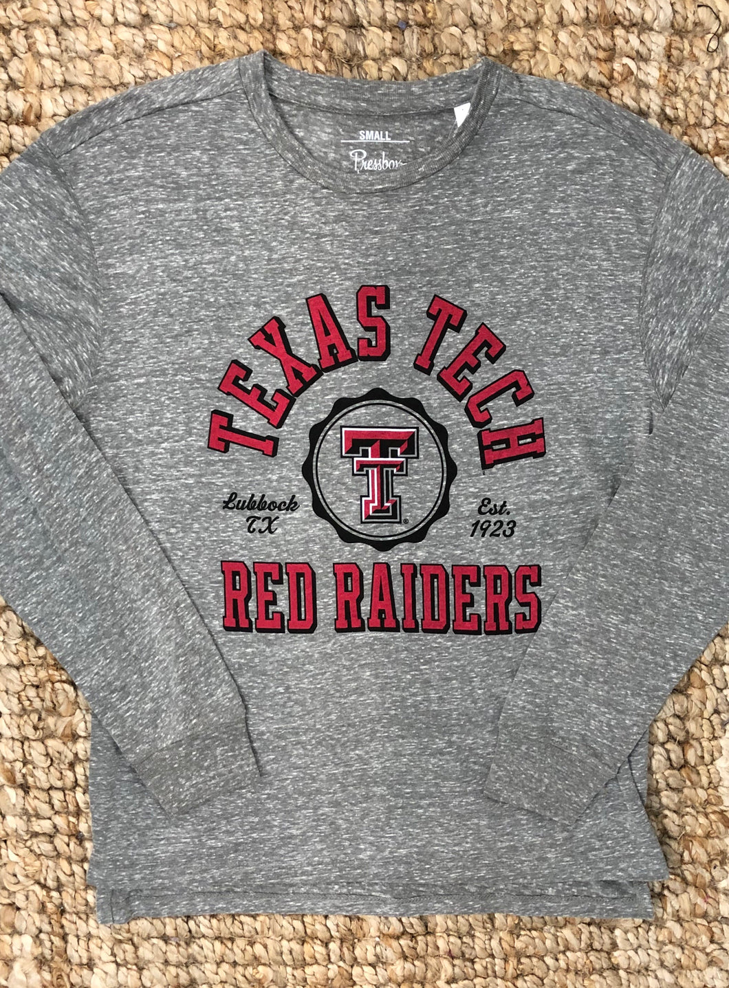 "Texas Tech- ""Victory Bells"" long-sleeved tee"