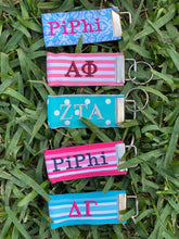 Sorority Ribbon Keychain