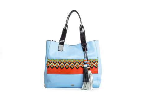 Wananpur -Tote Bag Baby Blue