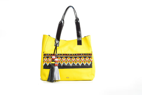 Wananpur - Tote Bag Yellow