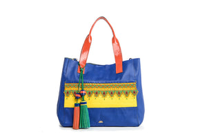 Wananpur -Tote Bag Blue