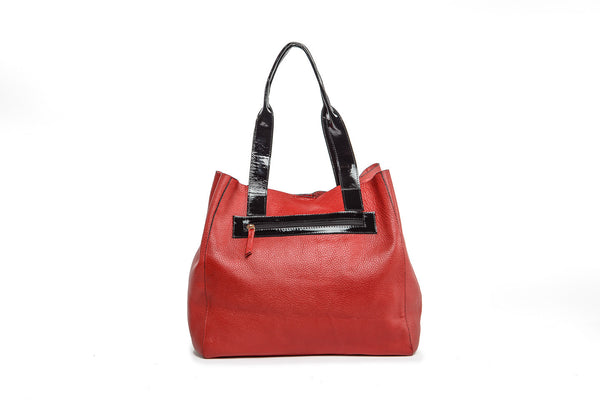 Wananpur -Tote Bag Red