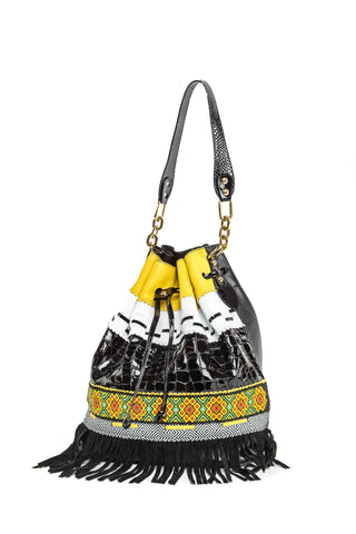 Wananpur - Bucket Bag Black