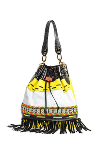 Wananpur - Bucket Bag Yellow
