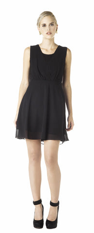 Melao - Black Coffee Dress