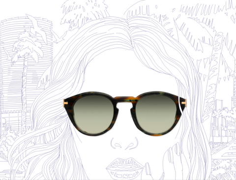 UltraMorea - CALLE 8 Sunglasses