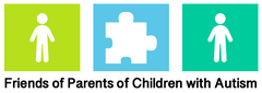 Friends of Parents of Children with Autism Logo