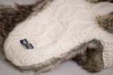 Anatoli Fur Hat fur trim detail
