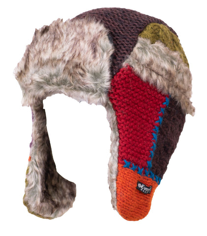 Patchwork Fur Hat