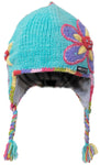 Kid's Wildflower Earflap