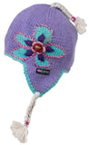 Toddler's Wildflower Earflap