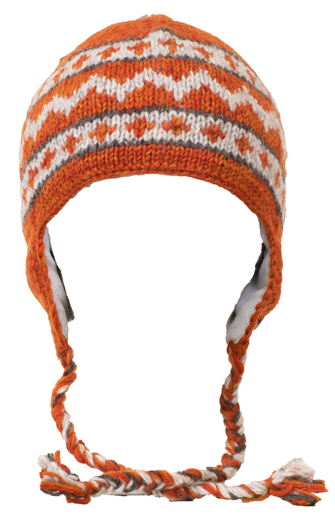 Zig Zag Earflap – Everest Designs aa533e3cc4a9