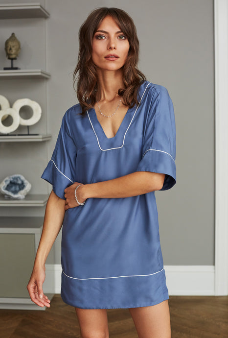 ATLANTIC TUNIC INDIGO