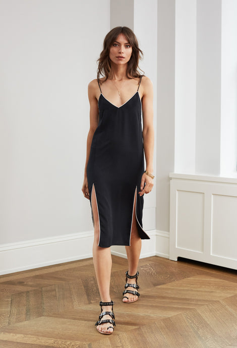 SAG HARBOR SLIP BLACK