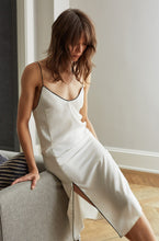 SAG HARBOR SLIP DRESS IVORY