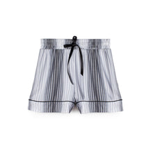 SAGAPONACK SHORT GREY STRIPE