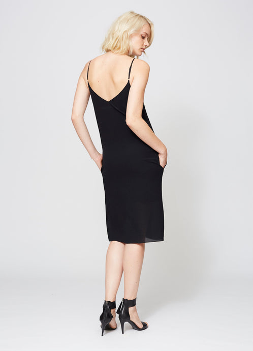 VANDAM SLIP DRESS
