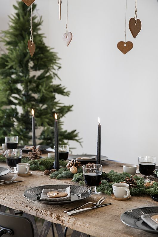INSPIRATION TABLE DE NOËL