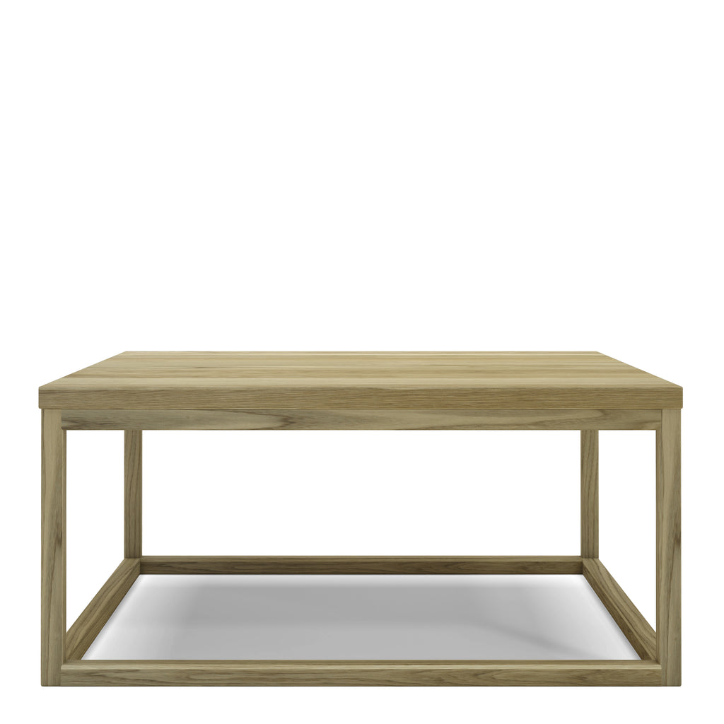 Table basse Prisme - chêne naturel 32 x 18 po