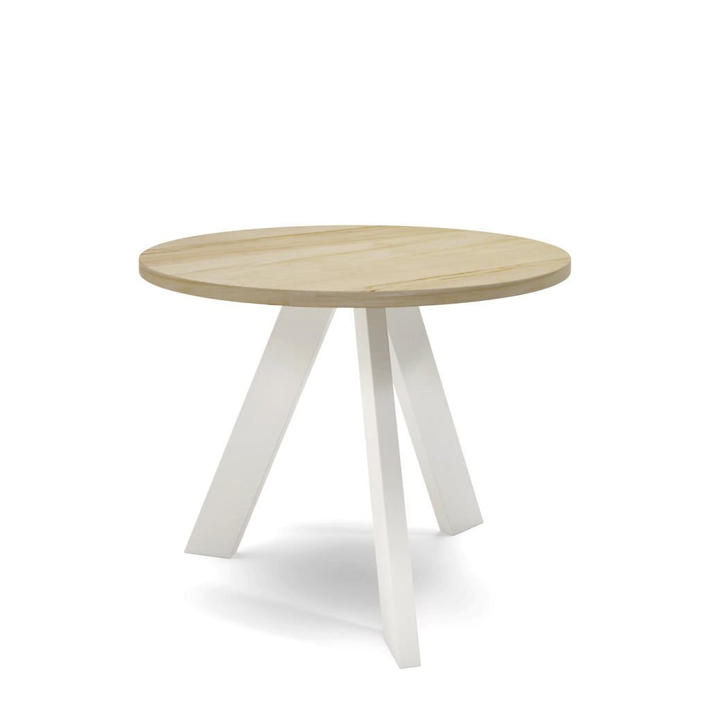 Table Ronde - Base blanche