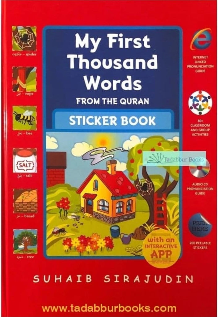 Back In Stock - My First Thousand Words From The Quran: Sticker Book