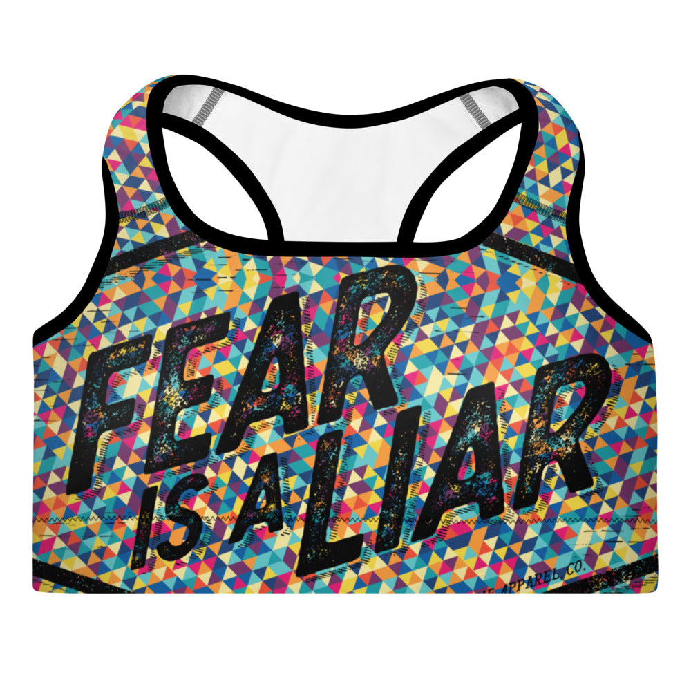 Fear is a Liar (Triangle) | Sports Bra