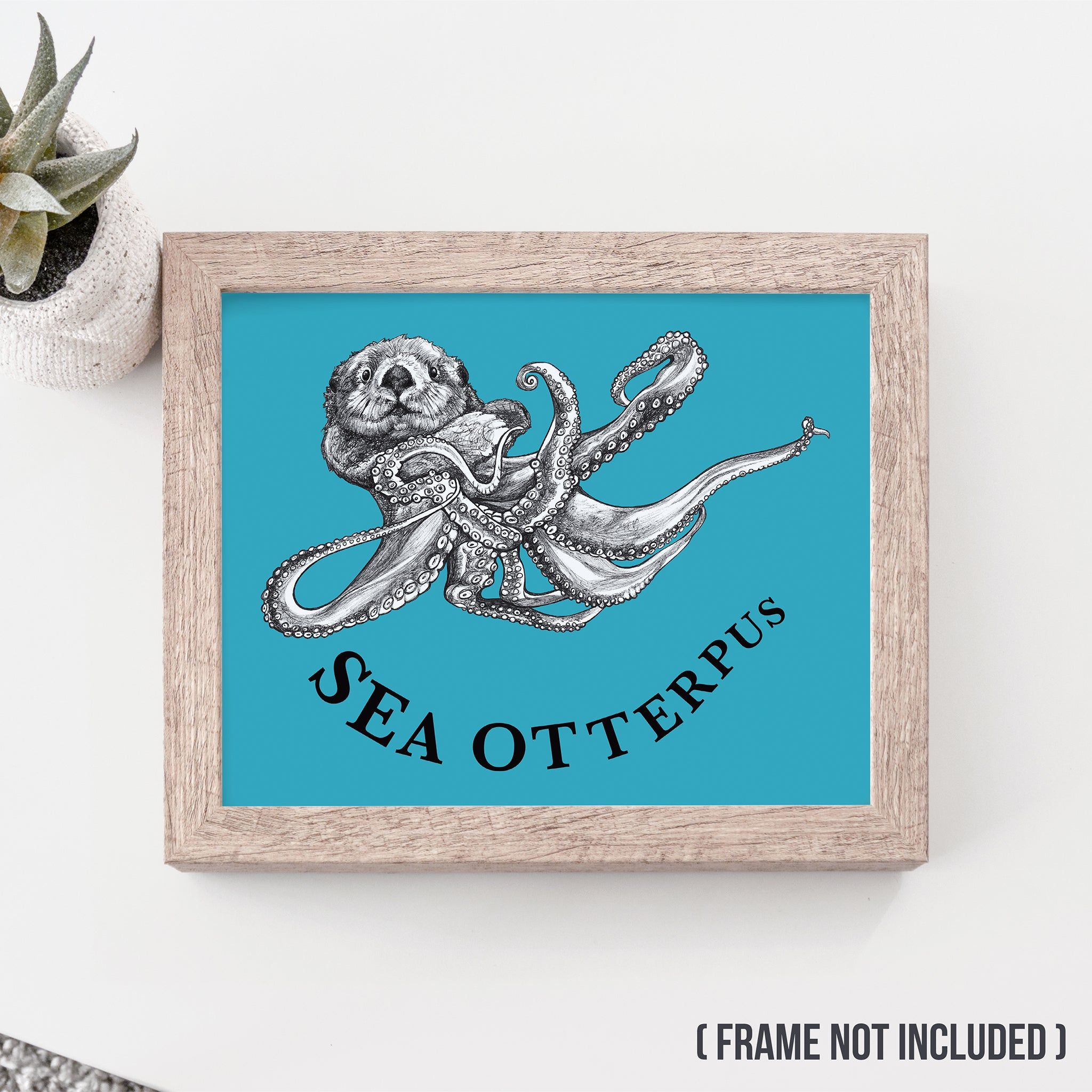 "Sea Otterpus 8x10"" Art Print"