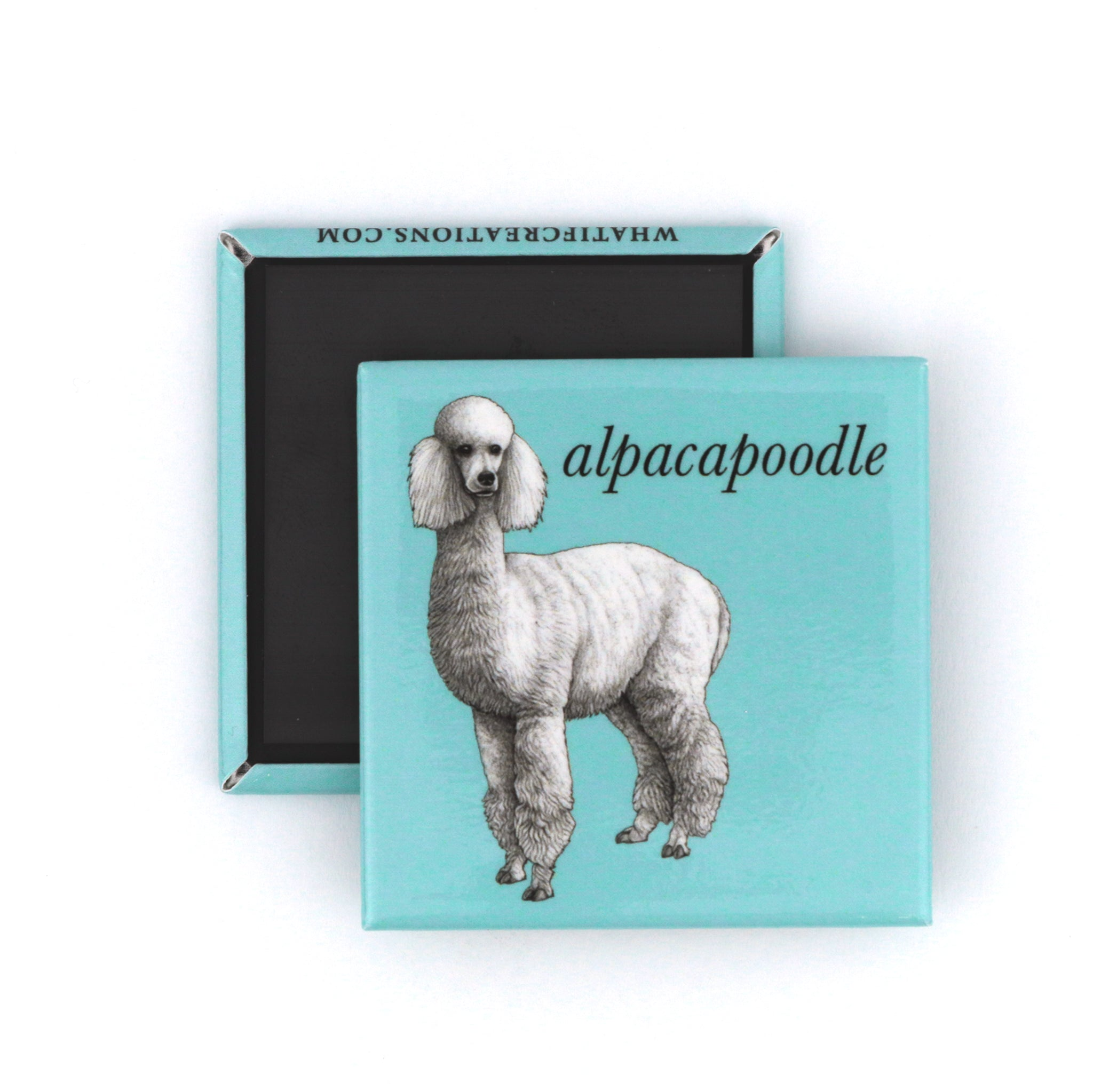 "Alpacapoodle 2"" Fridge Magnet"