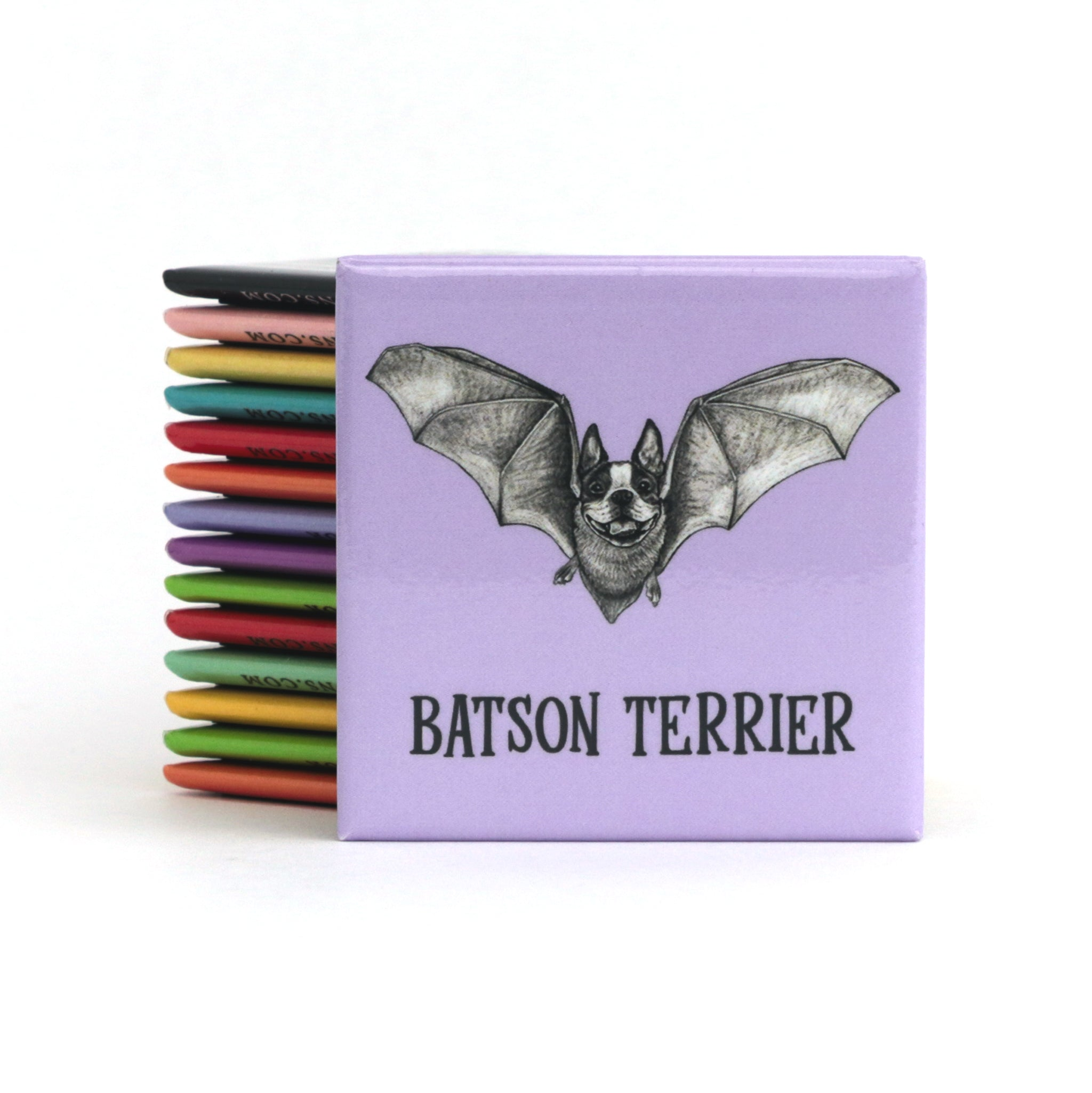 "Batson Terrier 2"" Fridge Magnet"
