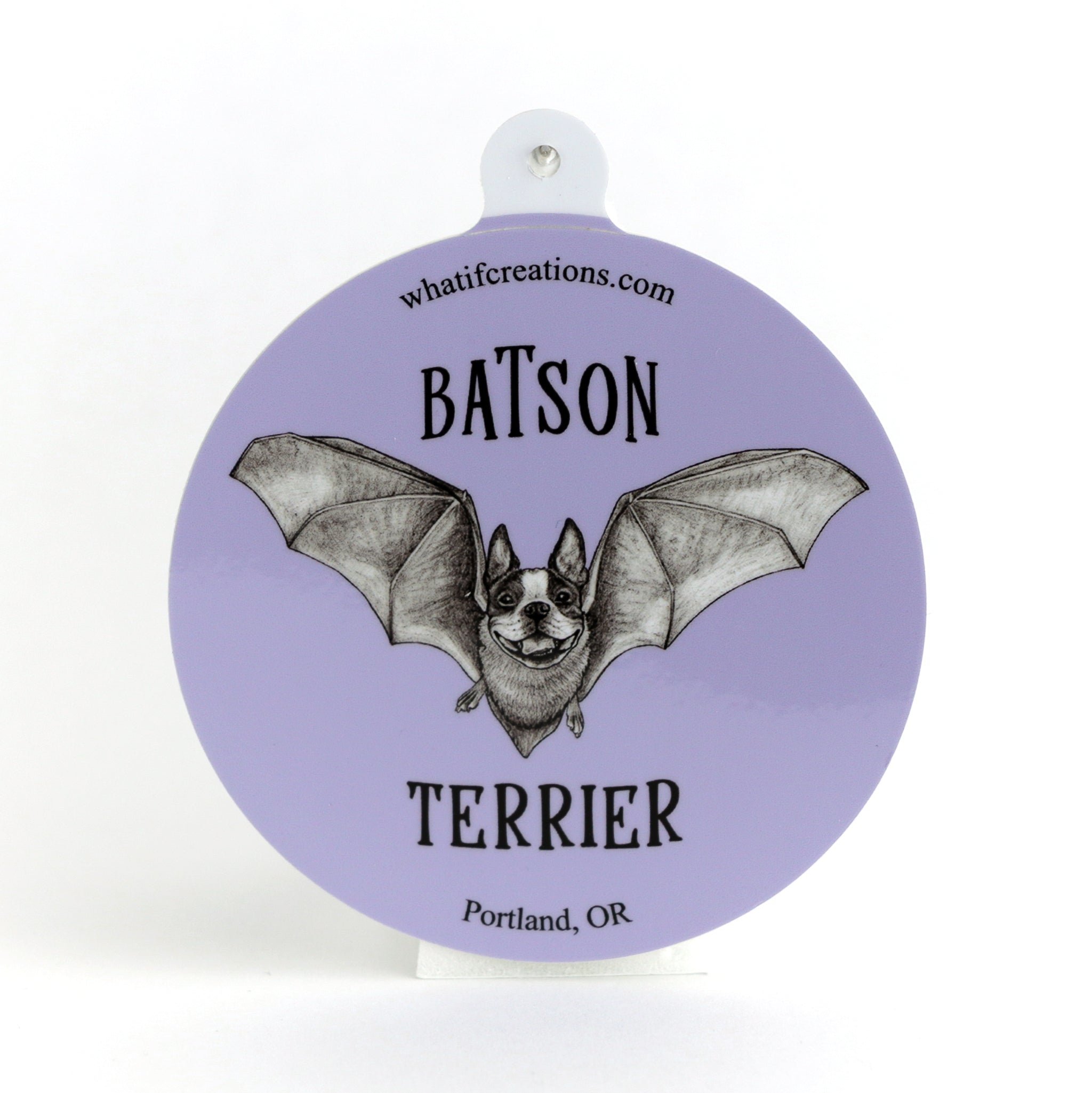 "Batson Terrier 3"" Vinyl Sticker"