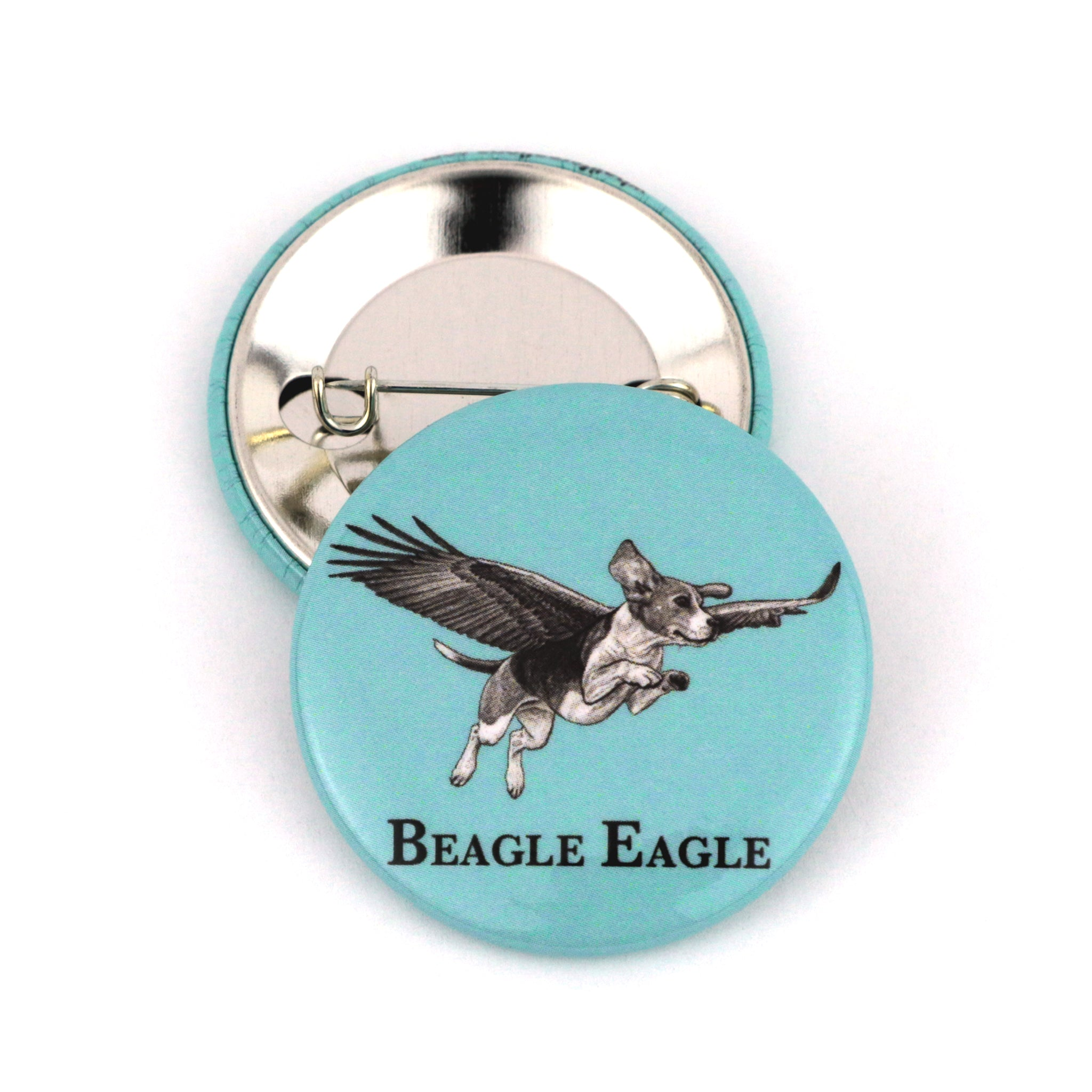 "Beagle Eagle 1.5"" Pinback Button"