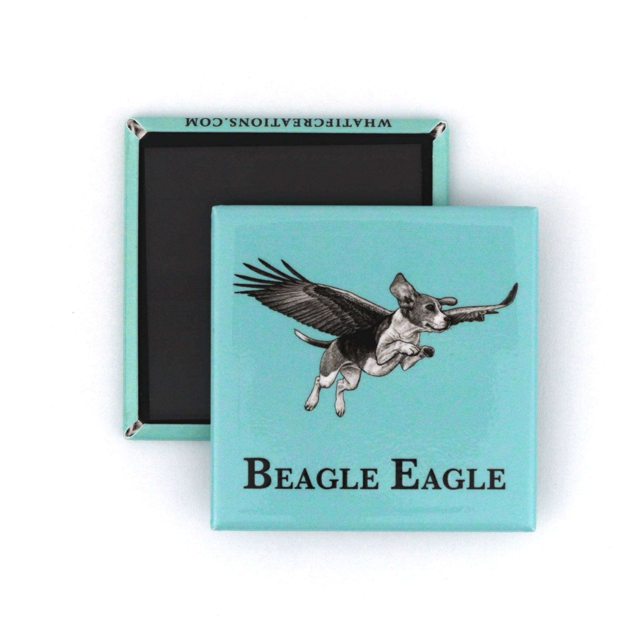 "Beagle Eagle 2"" Fridge Magnet"