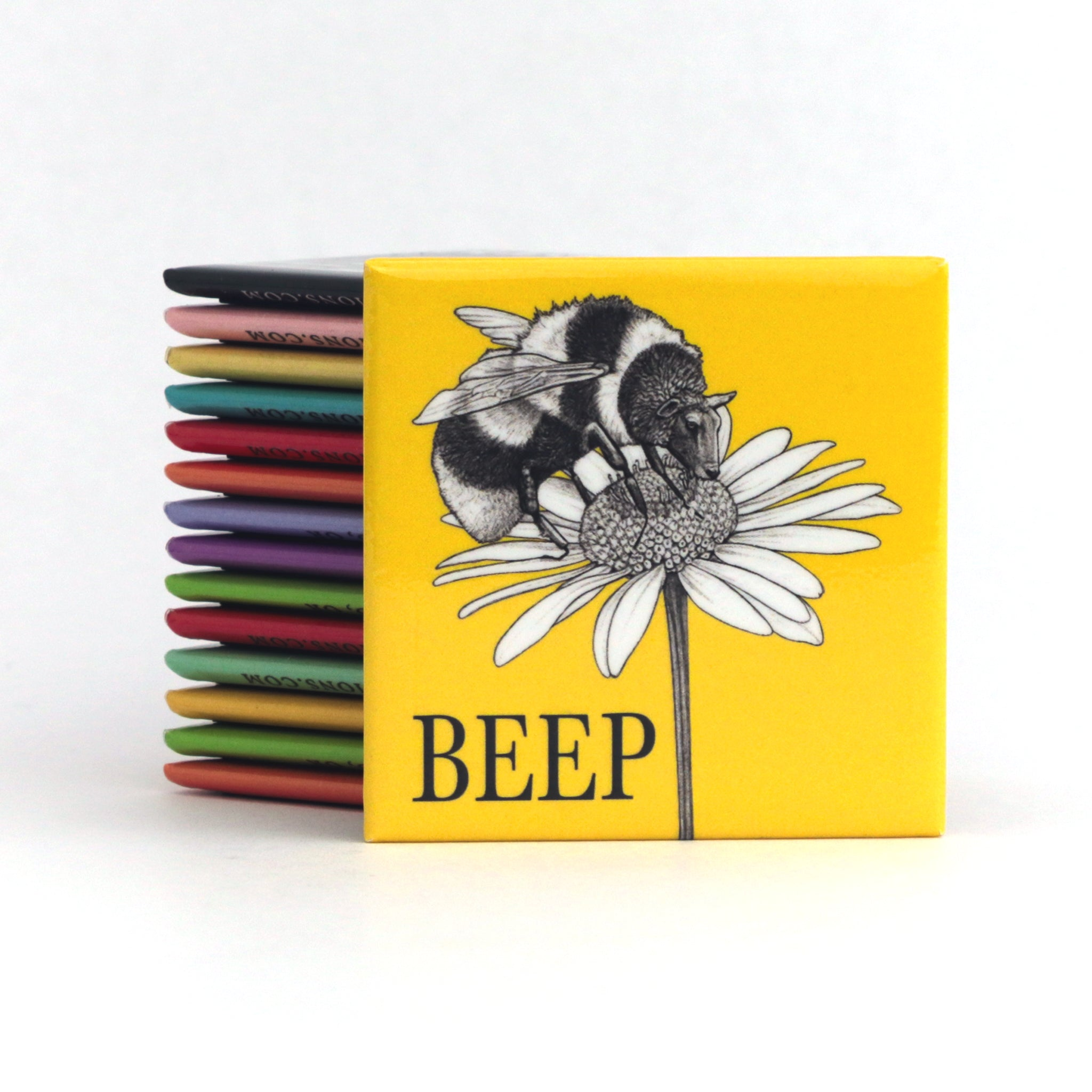"Beep 2"" Fridge Magnet"