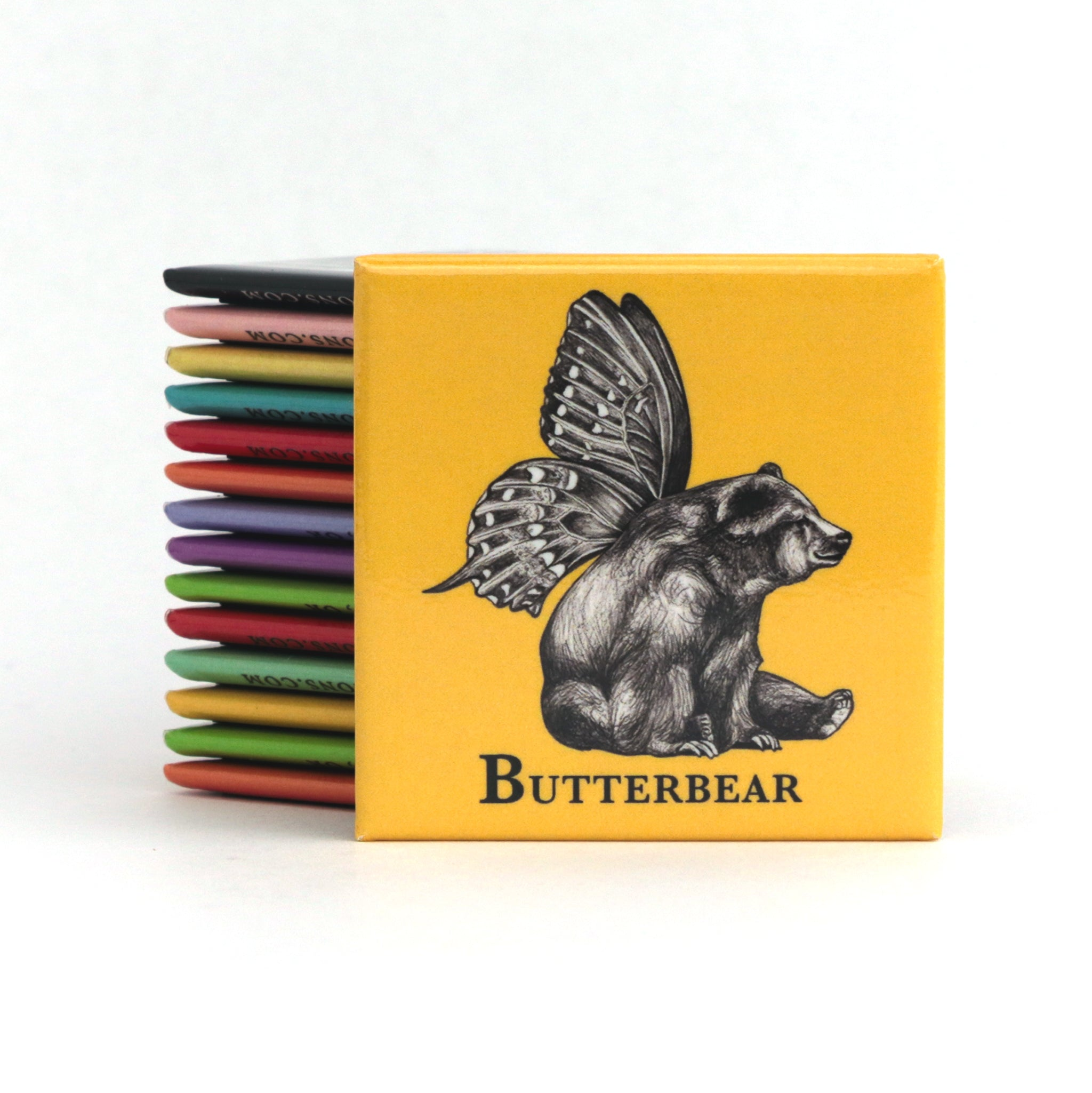 "Butterbear 2"" Fridge Magnet"