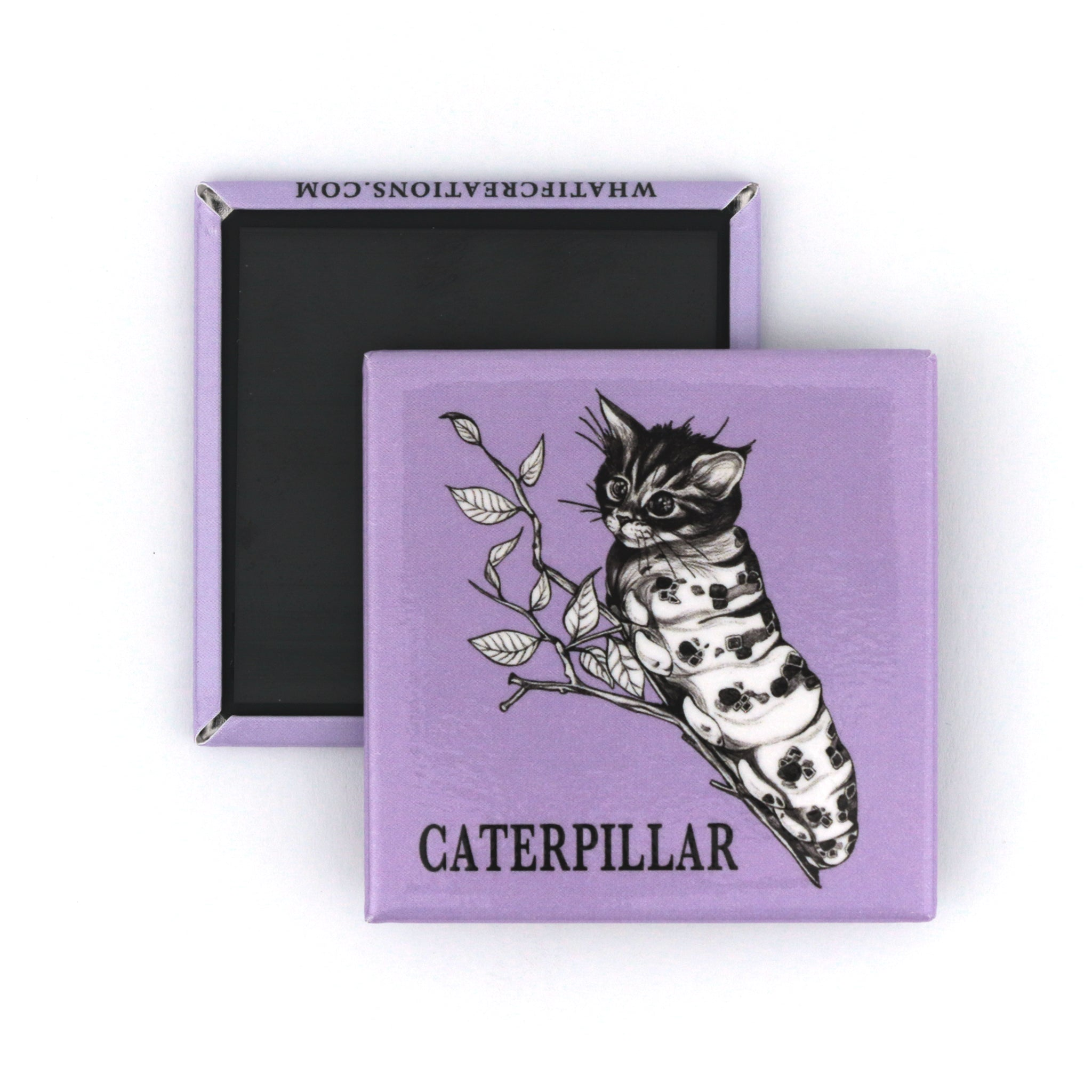 "Caterpillar 2"" Fridge Magnet"