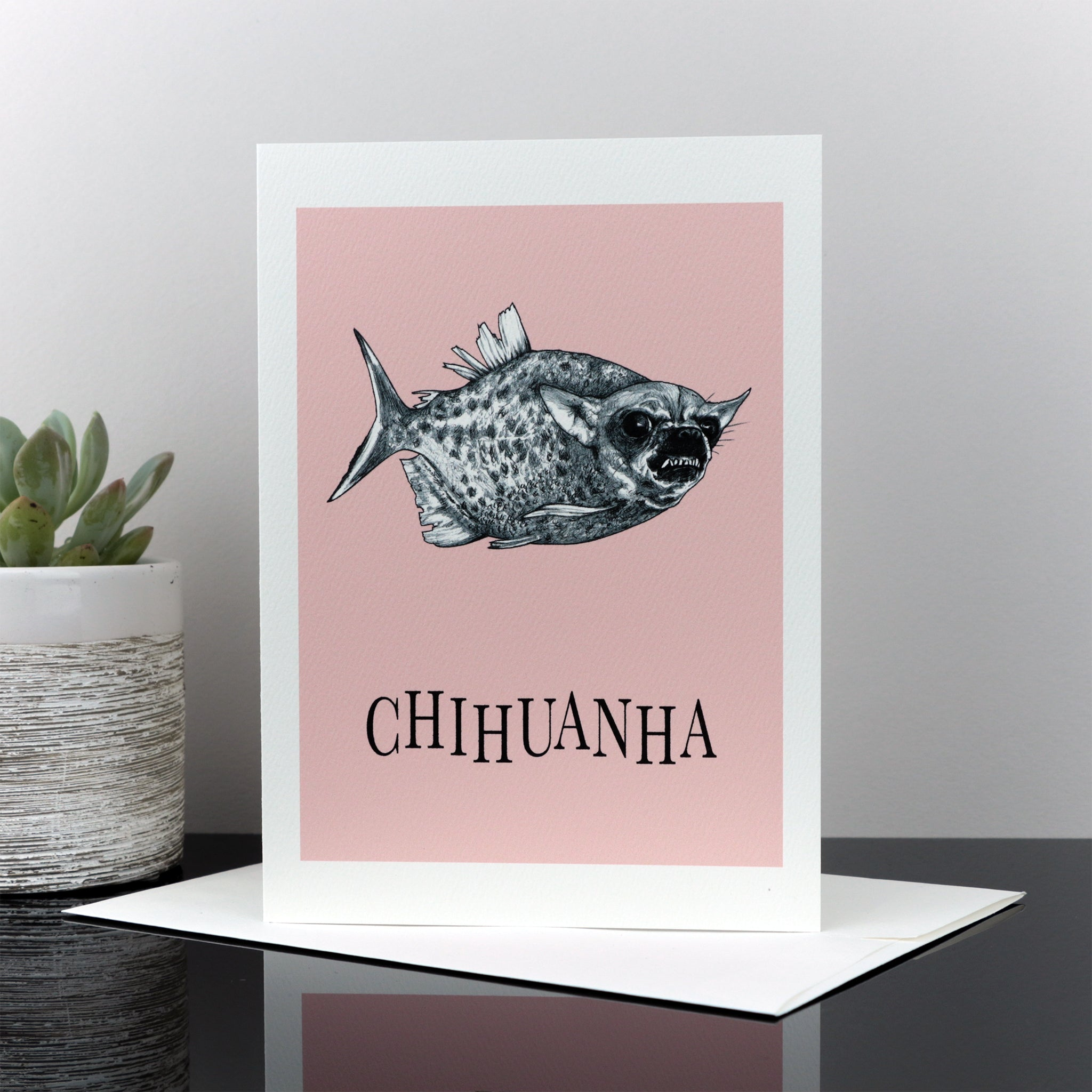 "Chihuanha 5x7"" Greeting Card"
