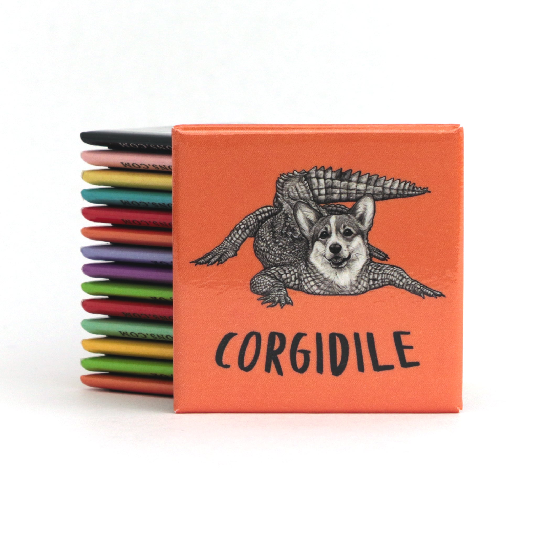 "Corgidile 2"" Fridge Magnet"