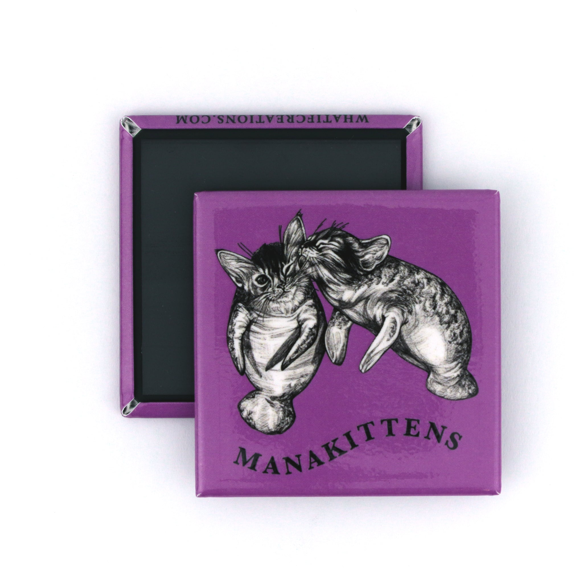 "Manakittens 2"" Fridge Magnet"