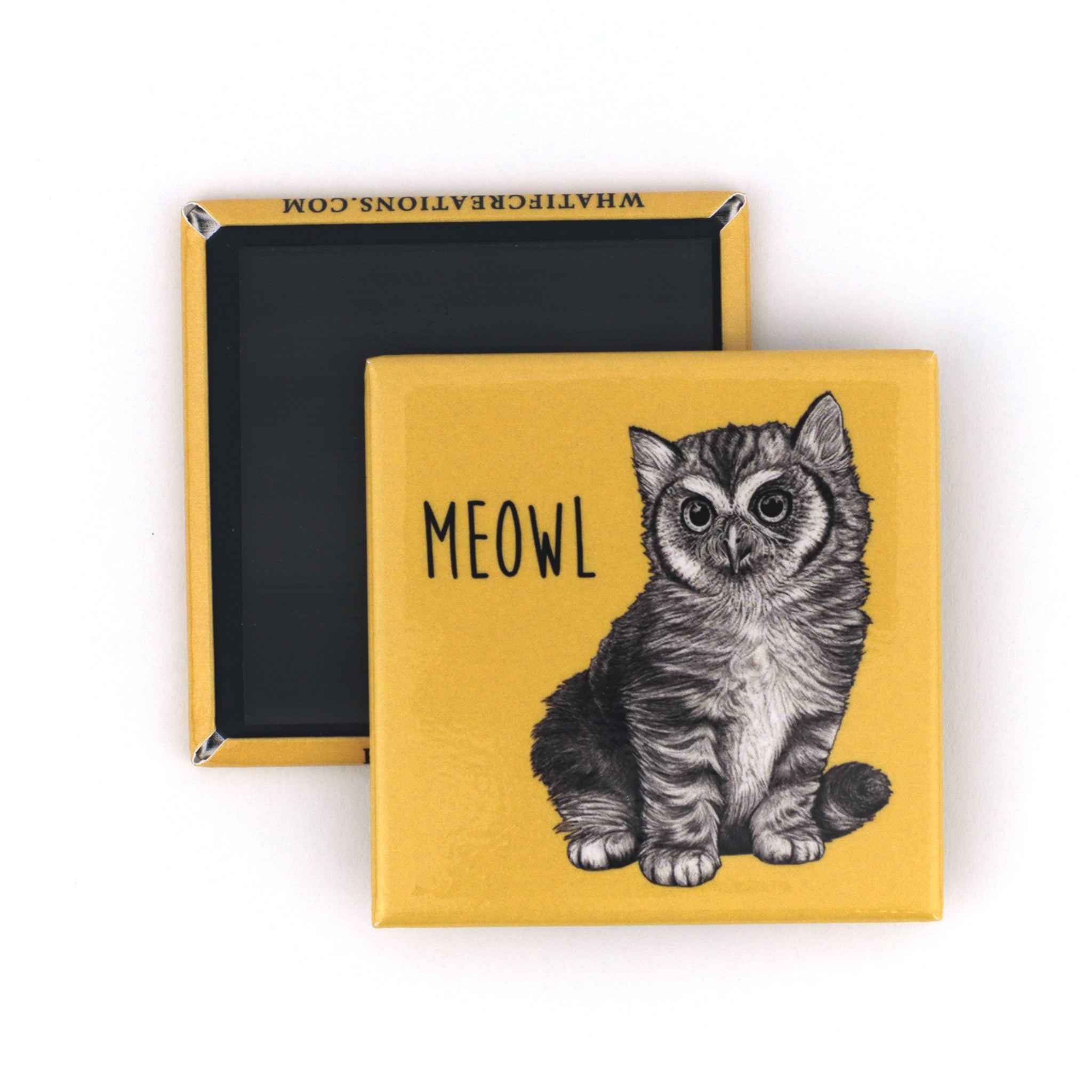"Meowl 2"" Fridge Magnet"