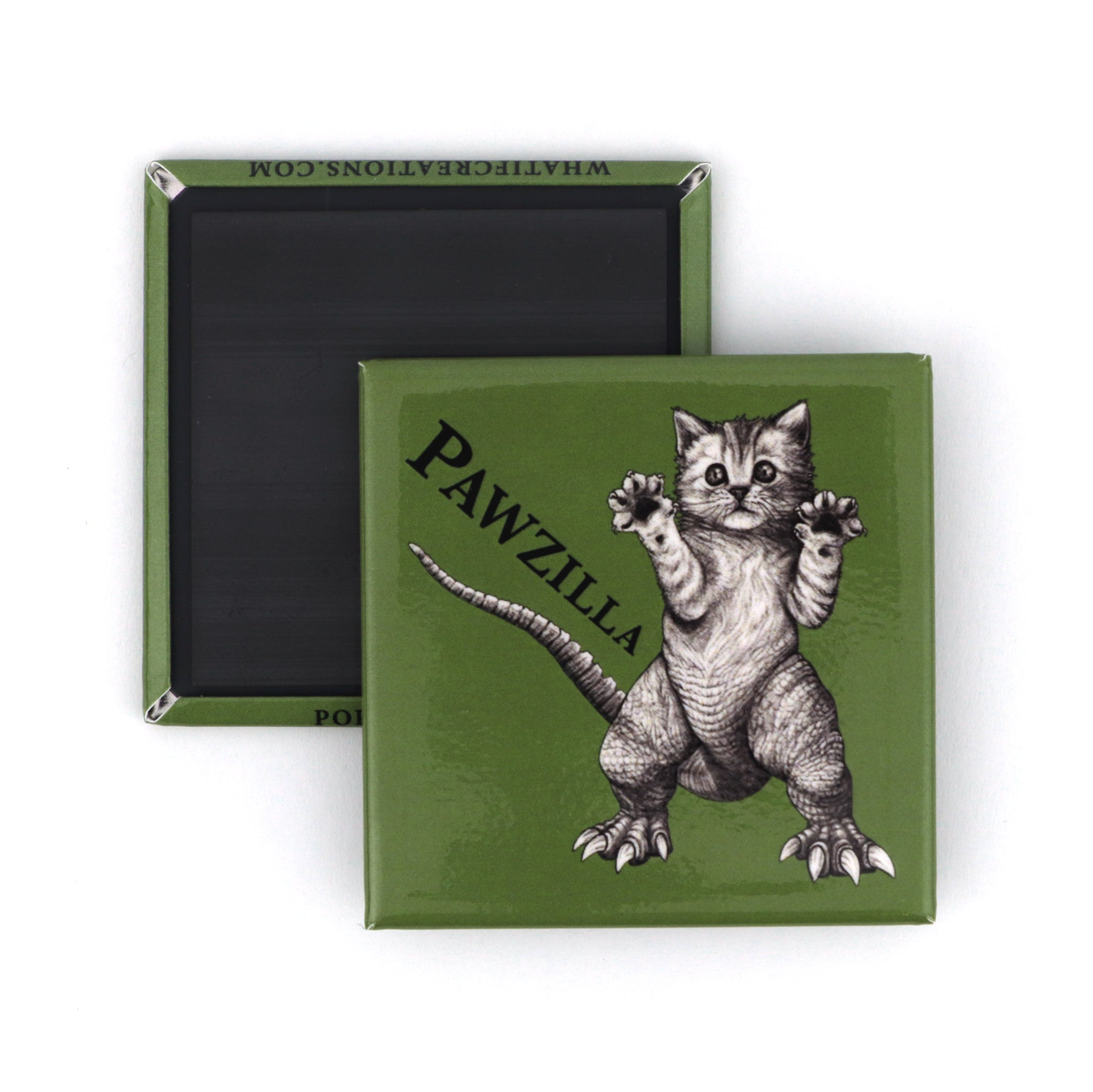 "Pawzilla 2"" Fridge Magnet"