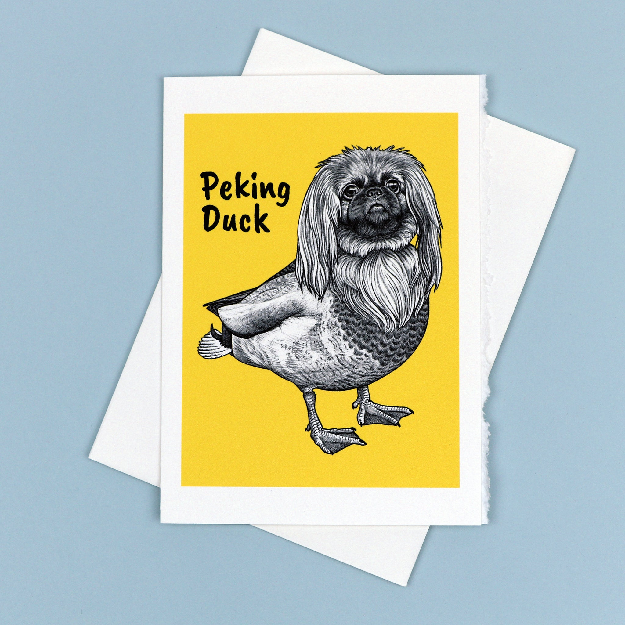 "Peking Duck 5x7"" Greeting Card"